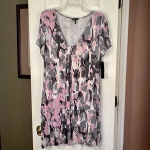 NWT DAISY FUENTES GARDEN PARTY STRETCH DRESS S-L